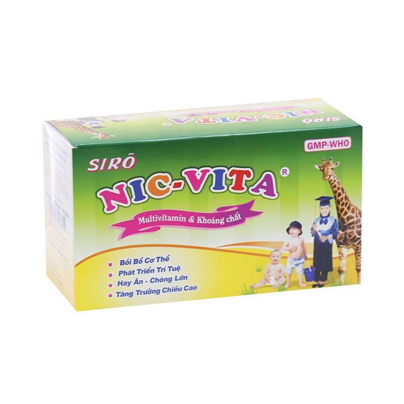 Nic Vita Hộp 20 ống - Giúp bồi bổ cơ thể, ăn ngon