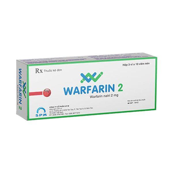 Warfarin 2 Hộp 30 Viên - Phòng Ngừa Và Điều Trị Huyết Khối