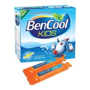 Bencool Kids Hộp 20 Ống - Thanh Nhiệt Giải Độc