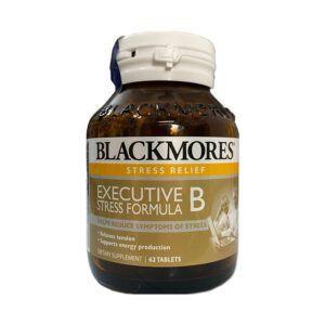 Blackmores Executive B Lọ 62 Viên - Hỗ Trợ Tăng Cường Sức Khỏe, Giảm Mệt Mỏi