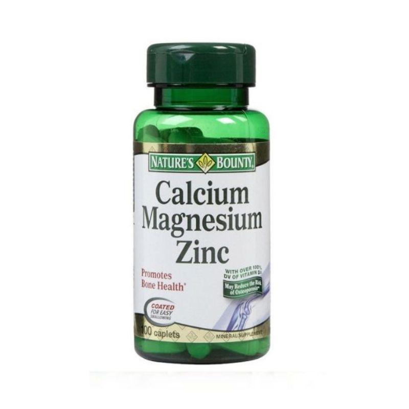Calcium Magnesium ZinC Lọ 100 Viên - Hỗ Trợ Xương, Khớp