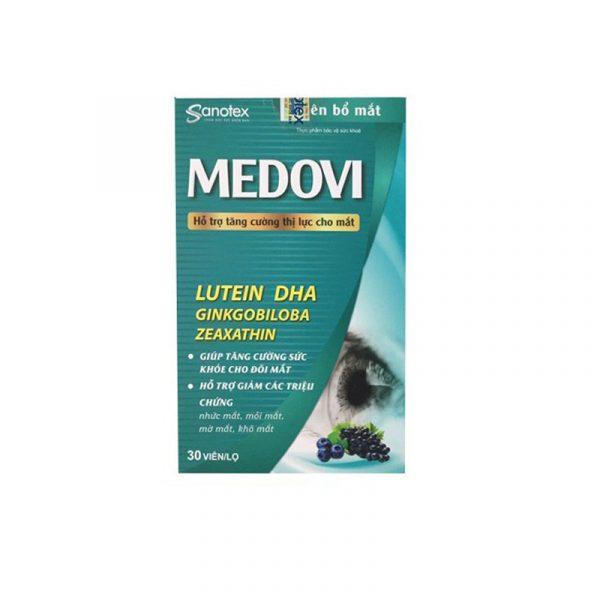 Viên Bổ Mắt Medovi Hộp 30 Viên - Giúp Tăng Sức Khỏe  Mắt