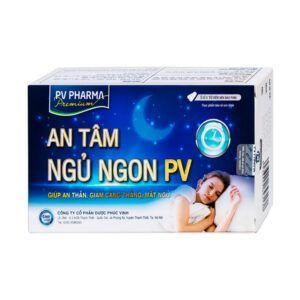 An Tâm Ngủ Ngon PV Hộp 50 Viên - Giúp An Thần, Giảm Căng Thẳng, Mất Ngủ