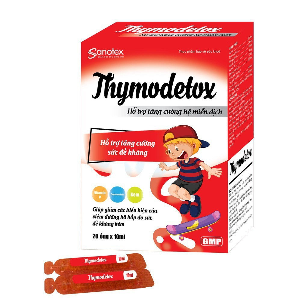Thymodetox - Hỗ Trợ Tăng Cường Sức Đề Kháng