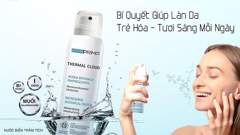 Thermal Cloud Chai 125ml - Nước Xịt Khoáng Hữu Cơ