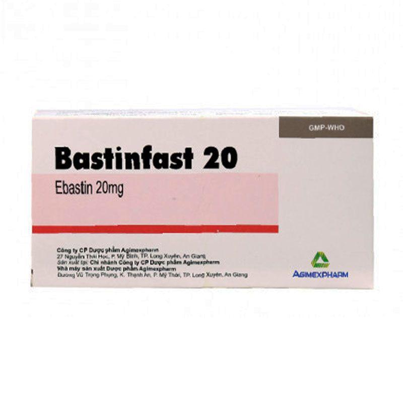 Bastinfast 20 Hộp 100 Viên - Điều Trị Viêm Mũi Dị Ứng