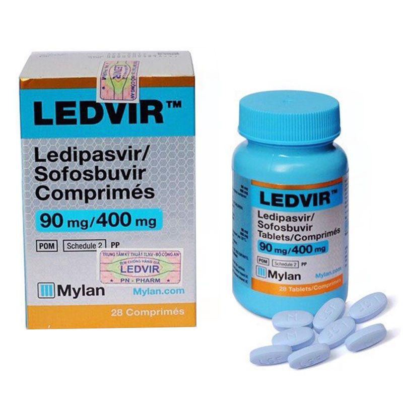 Ledvir Hộp 28 Viên - Điều Trị Viêm Gan C Ở Người Lớn