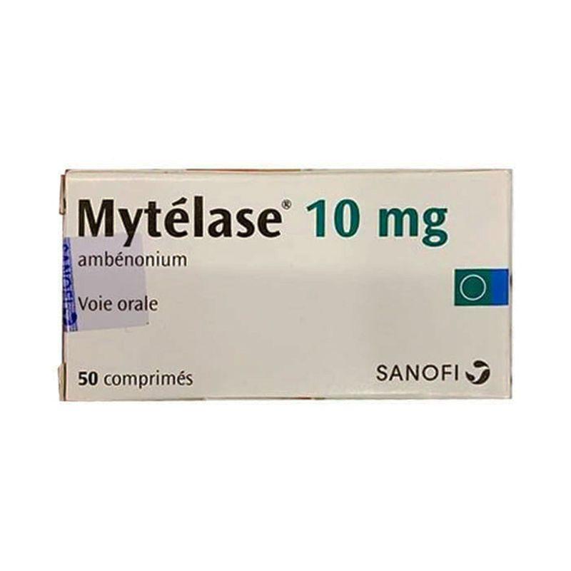 Mytelase 10mg Lọ 50 Viên - Điều Trị Chứng Nhược Cơ