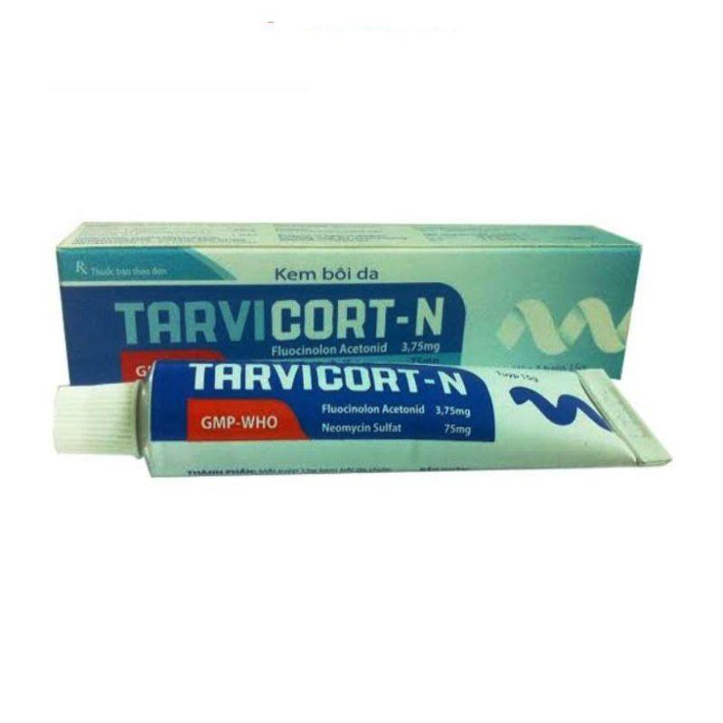 Tarvicort-N Tuýp 15g - Điều Trị Các Bệnh Ngoài Da