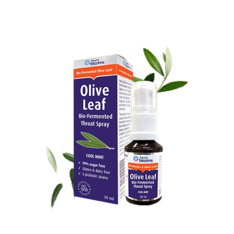 Olive Leaf Chai 30ml - Xịt Hầu Họng Ngăn Ngừa Vi Khuẩn