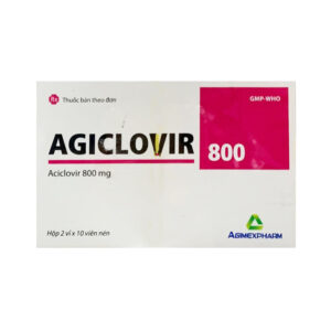 Agiclovir 800 Hộp 20 Viên - Thuốc Kháng Virus