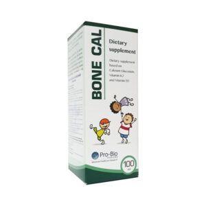 Bone Cal Hộp 100ml - Bổ Sung Canxi, Vitamin D3 Và Vitamin K2