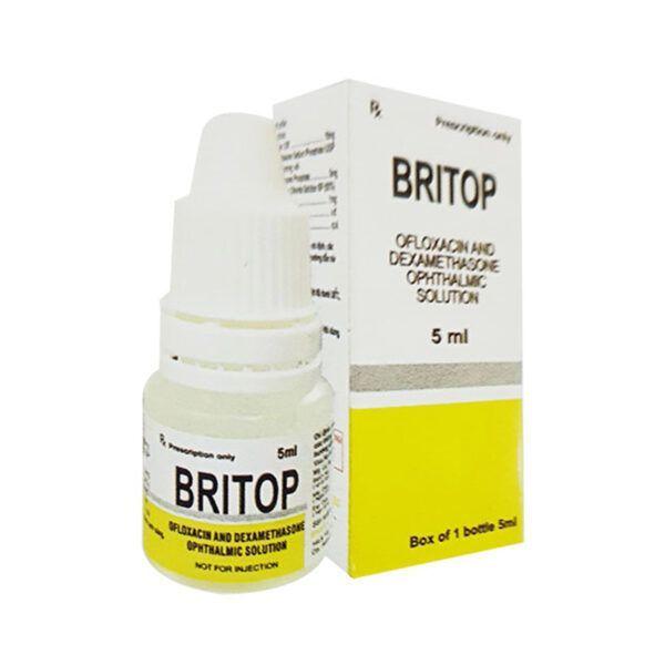 Thuốc Nhỏ Mắt Britop Lọ 5ml - Điều Trị Nhiễm Khuẩn Mắt