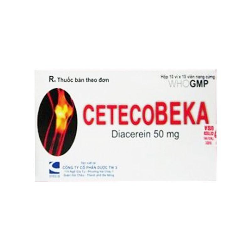 CetecoBeka Hộp 100 Viên - Điều Trị Thoái Hóa Khớp