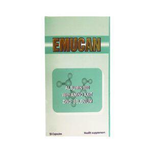 Emucan Hộp 30 Viên - Bổ Sung Albumin Và Protein