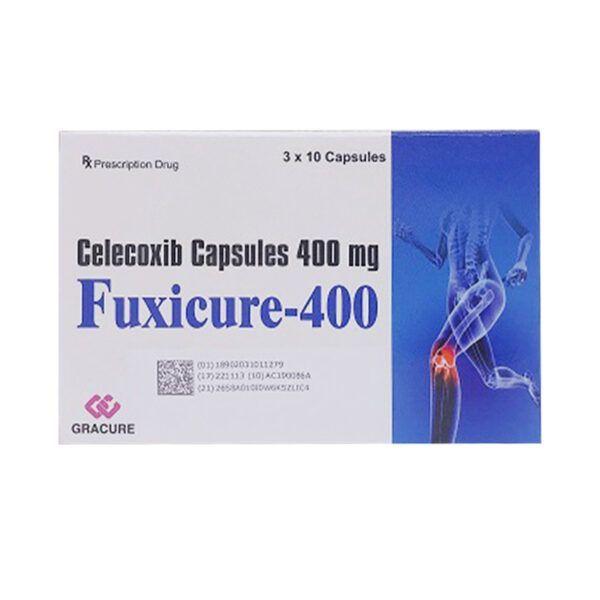 Fuxicure 400 Hộp 30 Viên - Làm Giảm Đau, Kháng Viêm