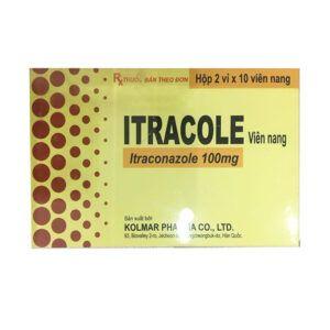 Thuốc Itracole Hộp 20 Viên - Thuốc Kháng Nấm