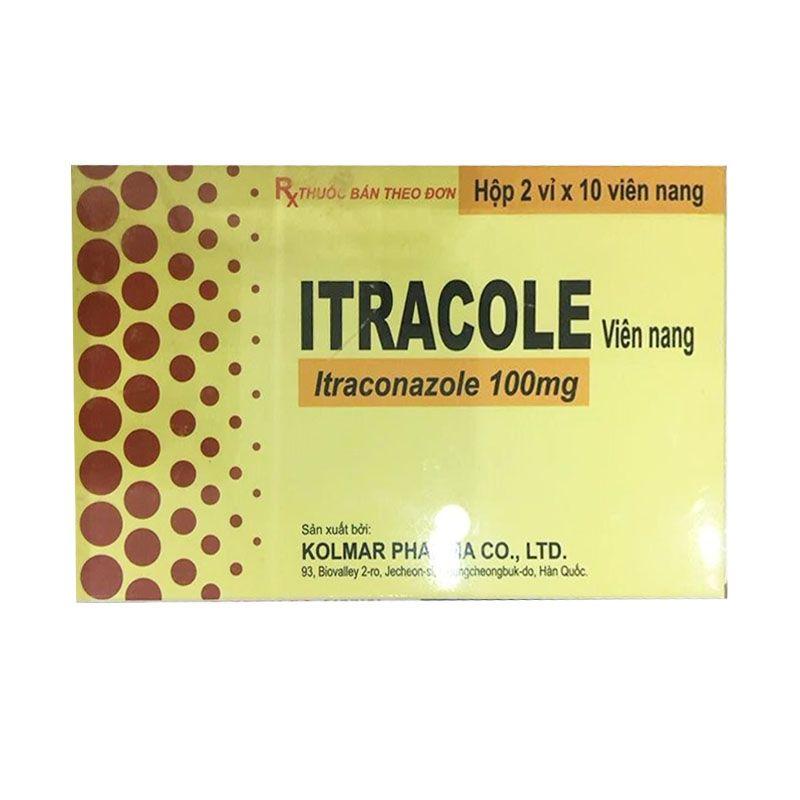 Itracole Hộp 20 Viên - Điều Trị Nhiễm Nấm