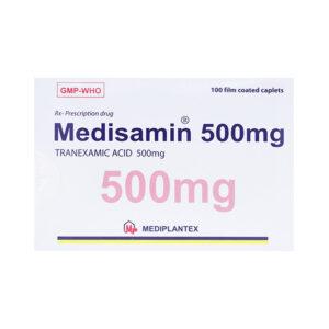 Medisamin 500mg Hộp 100 Viên - Điều Trị Và Phòng Ngừa Chảy Máu