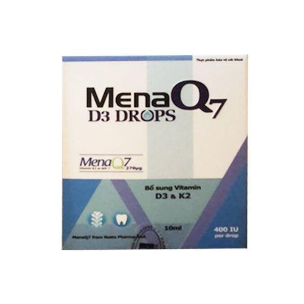 Mena Q7 Lọ 10ml - Bổ Sung Vitamin D3 Và Vitamin K2