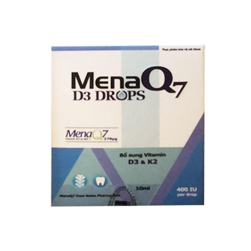 Mena Q7 Lọ 10ml - Giúp Xương Răng Chắc Khỏe