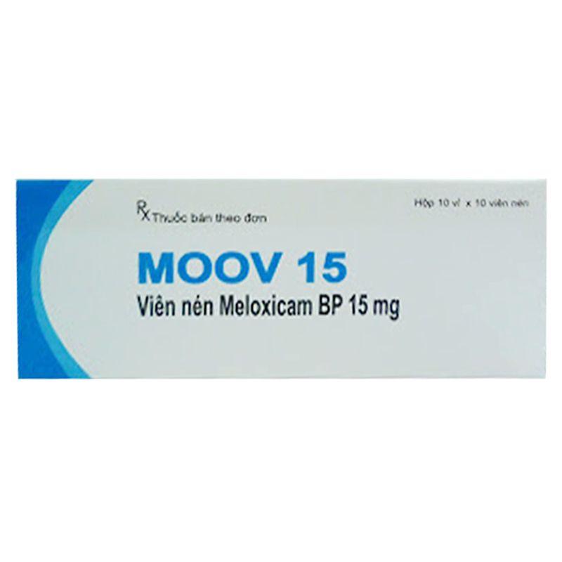 Moov 15 Hộp 100 Viên - Giảm Triệu Chứng Viêm Xương Khớp