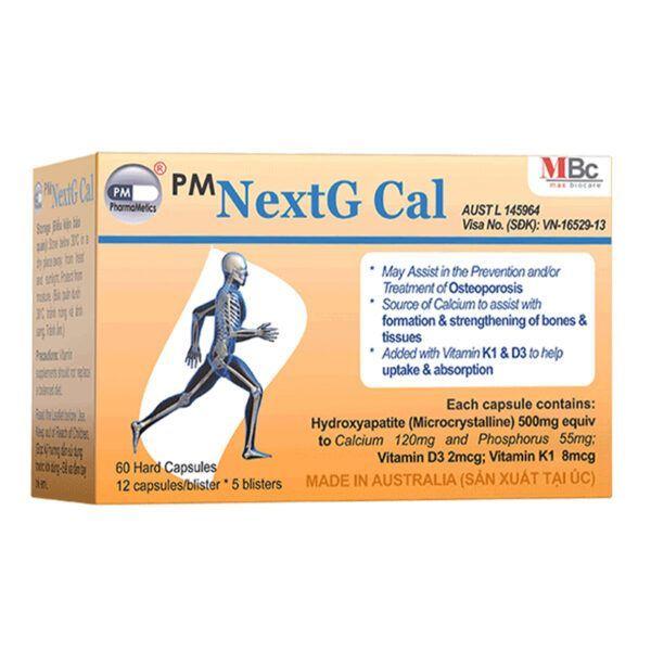 Next Gcal Hộp 60 Viên - Viên Uống Bổ Sung Canxi