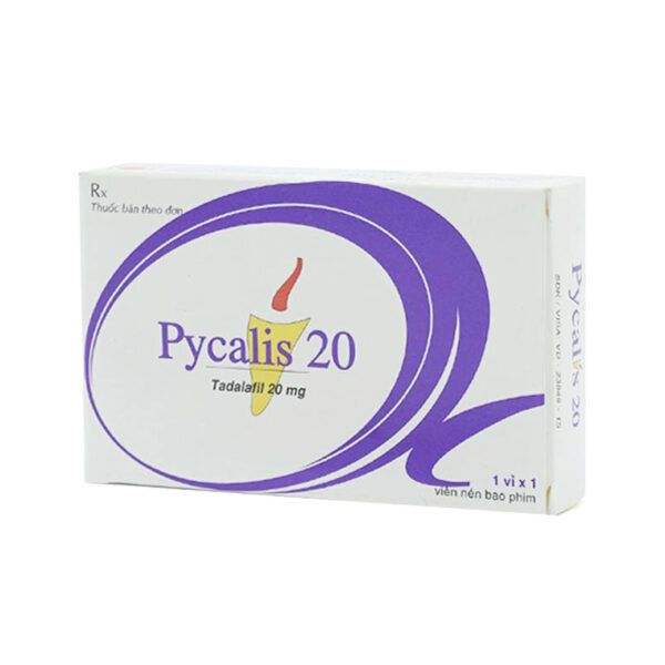 Pycalis 20 Hộp 1 Viên - Thuốc Cường Dương