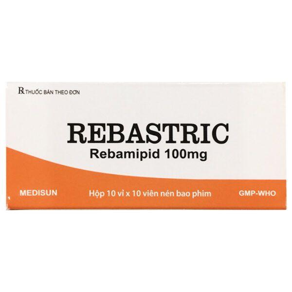 Thuốc Rebastric Hộp 100 Viên - Giảm Đau Hiệu Quả