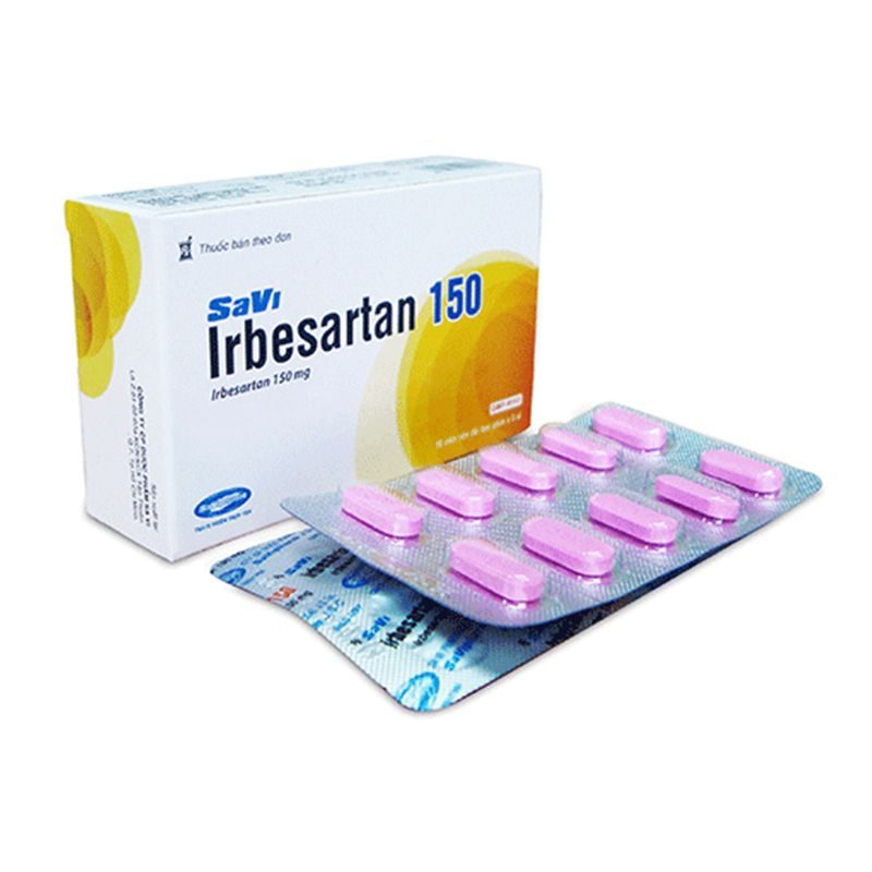 Savi Irbesartan 150 Hộp 30 Viên - Điều Trị Tăng Huyết Áp