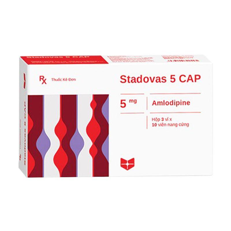 Stadovas 5 Cap Hộp 30 Viên - Điều Trị Tăng Huyết Áp