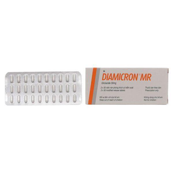 Diamicron MR 30mg Hộp 30 Viên -  Giúp Kiểm Soát Đường Huyết