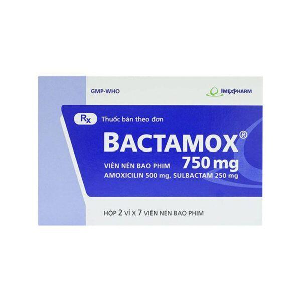 Bactamox 750 Hộp 14 Viên - Thuốc Kháng Sinh