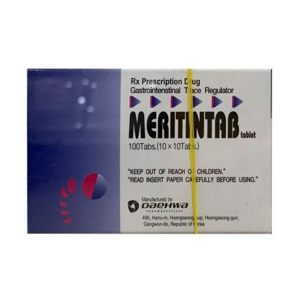 Meritintab Hộp 100 Viên - Điều Trị Rối Loạn Tiêu Hóa