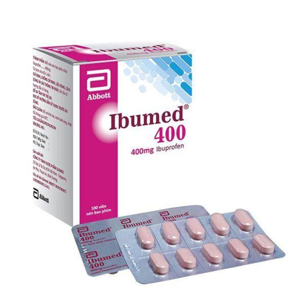 Thuốc Ibumed 400 Hộp 100 Viên - Giúp Hạ Nhiệt, Giảm Đau