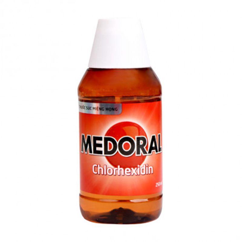 Medoral Chai 250ml - Thuốc Súc Miệng, Họng