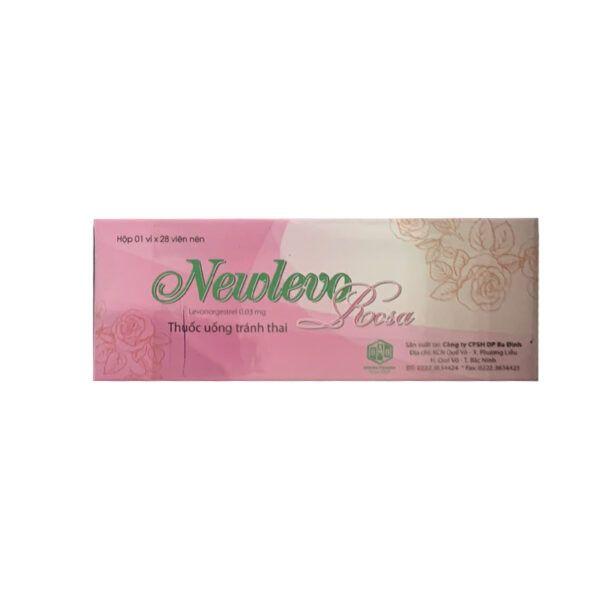 Thuốc Uống Tránh Thai Newlevo Hộp 28 Viên
