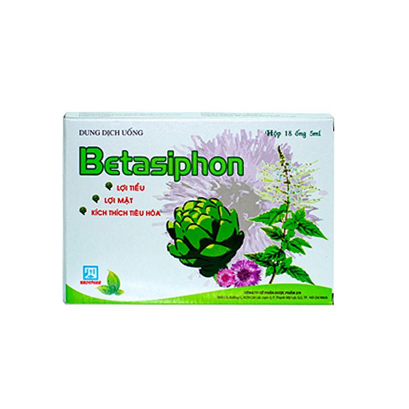 Betasiphon Hộp 18 Ống - Trị Các Bệnh Về Gan Mật