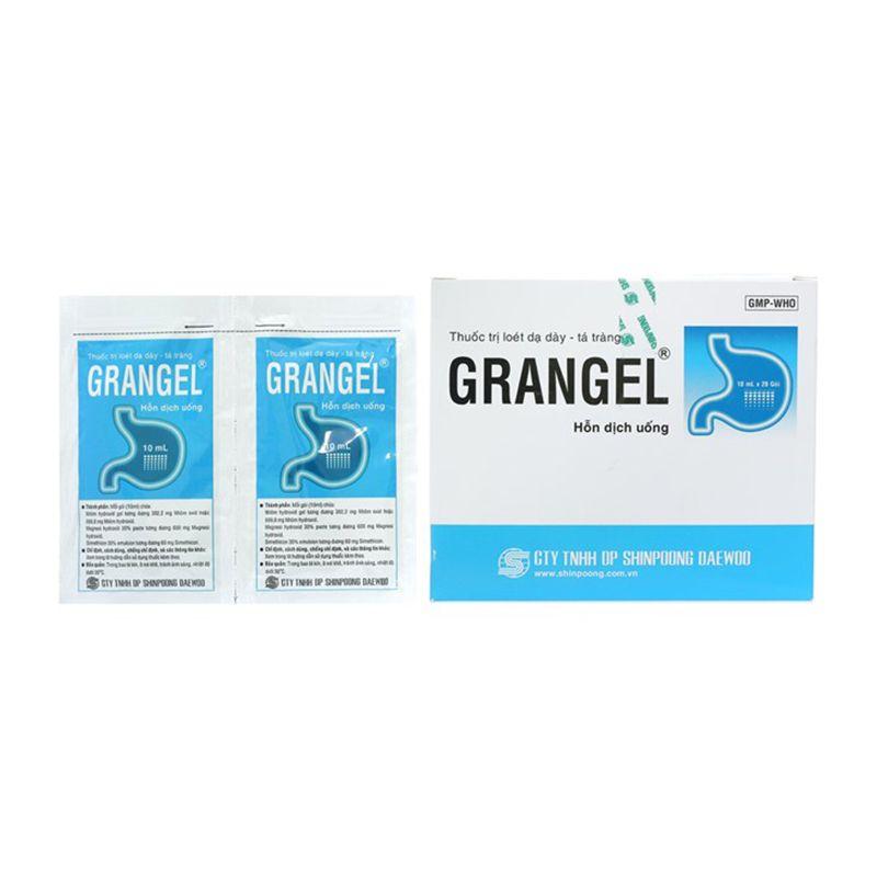 Grangel Hộp 20 Gói - Trị Viêm Loét Dạ Dày Tá Tràng