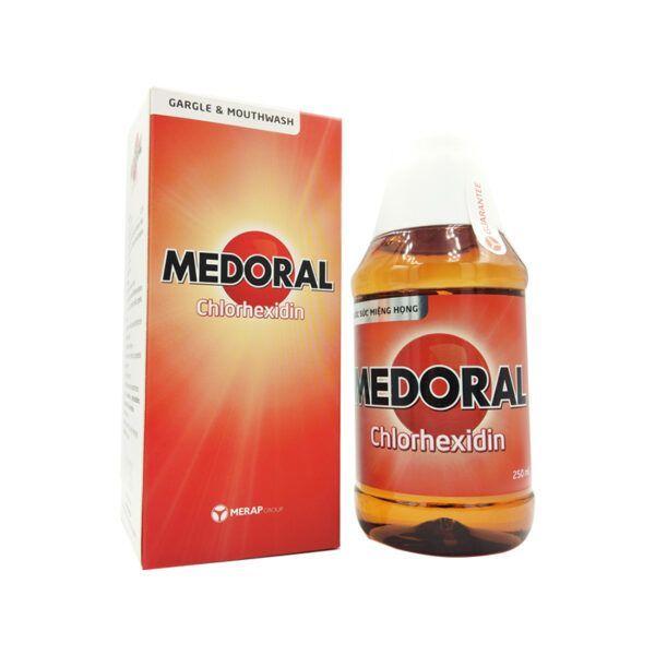 Thuốc Súc Miệng Họng Medoral Chai 250ml - Sát Khuẩn, Vệ Sinh Răng Miệng