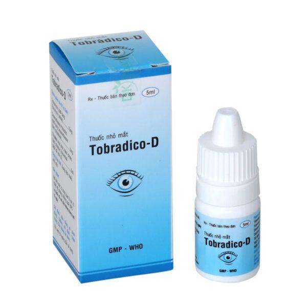 Thuốc Nhỏ Mắt Tobradico D Lọ 5ml - Điều Trị Viêm Nhiễm Khuẩn Mắt