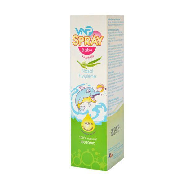 VNP Spray Khuynh Diệp Chai 100ml - Giúp Vệ Sinh Mũi Trẻ Nhỏ