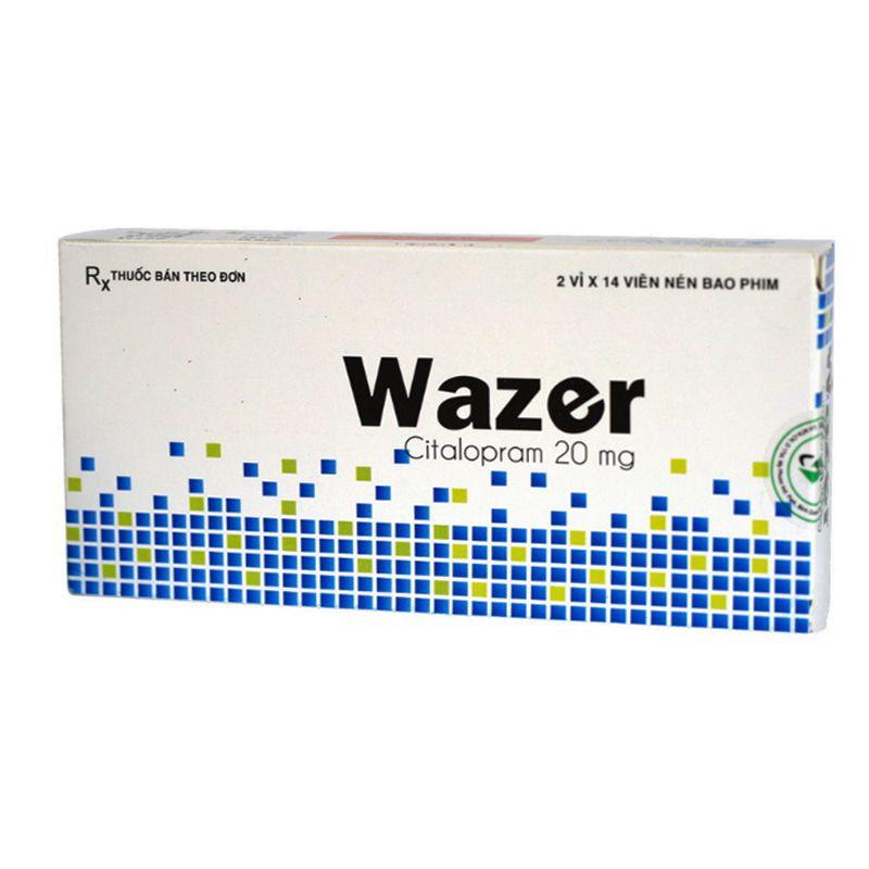 Wazer Hộp 28 Viên - Điều Trị Bệnh Trầm Cảm