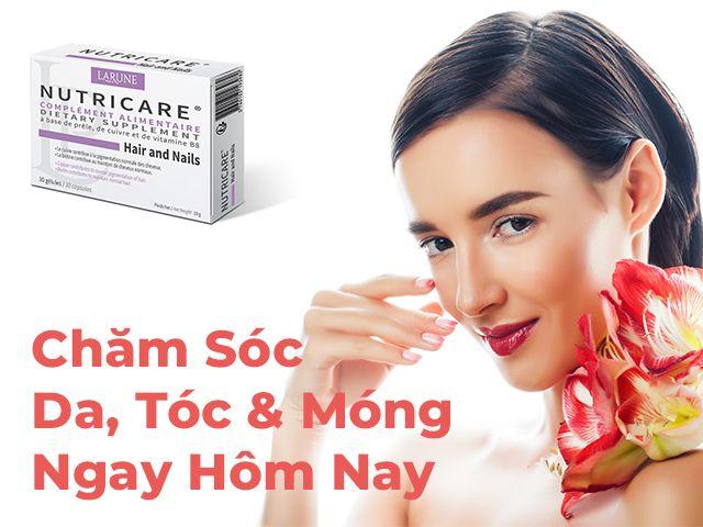 Nutricare Hair And Nails Hộp 30 Viên - Chăm Sóc Tóc, Móng