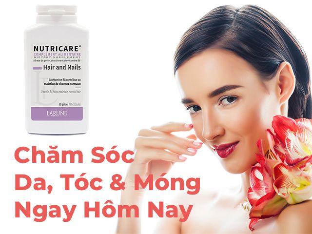 Nutricare Hair And Nails Hộp 60 Viên - Chăm Sóc Tóc, Móng