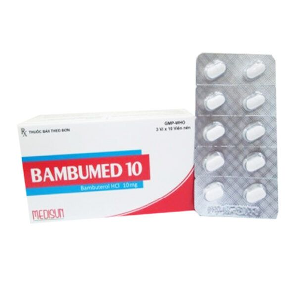Bambumed 10 Hộp 30 Viên - Thuốc Giãn Phế Quản
