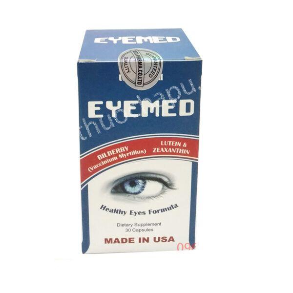 Eyemed Hộp 30 Viên- Hỗ Trợ Điều Trị Các Bệnh Về Mắt