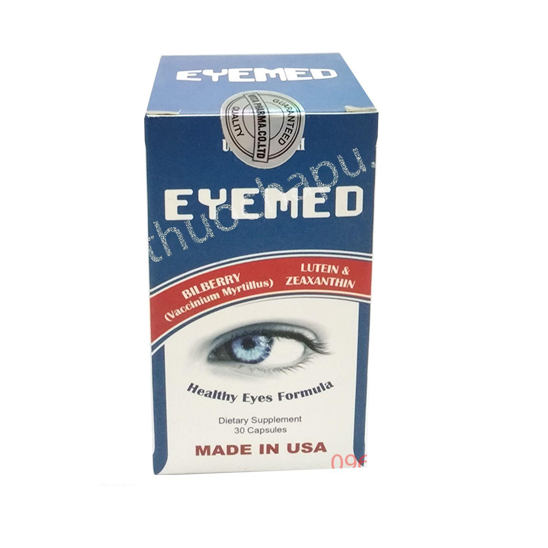 Eyemed Hộp 30 Viên- Giúp Mắt Sáng Và Khỏe