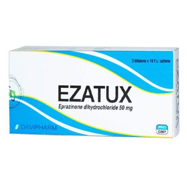 Ezatux Hộp 30 Viên - Cắt Cơn Ho, Giảm Đờm Hiệu Quả
