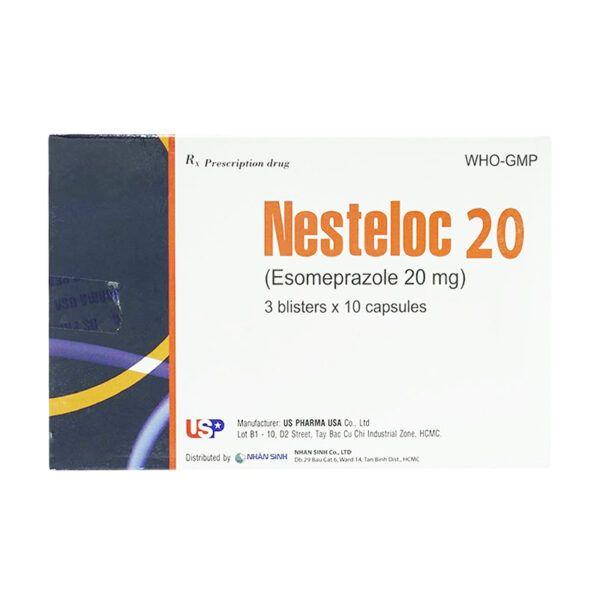 Thuốc Nesteloc 20 Hộp 30 Viên - Giảm Tiết Acid Dạ Dày